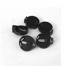 100PCS Button Coin Cell Battery Socket Holder Case Black CR2025 CR2032