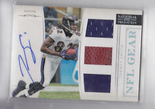 TORREY SMITH 2012 NATIONAL TREASURES NFL GEAR DUAL JERSEY GAME BALL 17/49
