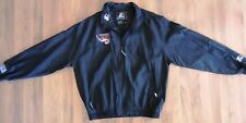 Vintage Starter Rhein Fire Black Jacket-World Football League-XL