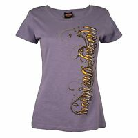 Harley-Davidson® HD Womens Sturgis Stone Classical Purple Short Sleeve T-Shirt