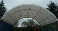 6m W x 12m L Container Shelter - Igloo Dome Shelter
