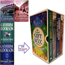 Catherine Cookson 4 Books Collection Set A Ruthless Need ,Gift Wrapped Slipcase