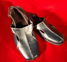 Women's Easy Street - Comfort  Wave Leather Shoes - Size 10W