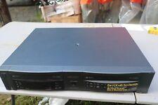 Go Video Gv4060 Dual Deck Vhs Vcr Player Recorder