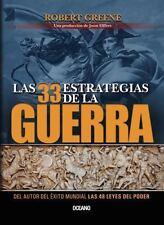 Las 33 Estrategias de la Guerra (Tapa Blanda) by Robert Greene  (208 paginas)