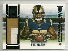 Tre Mason 2014 Panini Elite New Breed PRIME - RC 3 color Patch #'d 97/99 - RAMS