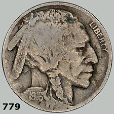 1916 5c Buffalo Nicke, higher grade, would look great in book