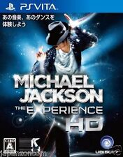 Used PS Vita Michael Jackson The Experience HD SONY PLAYSTATION JAPANESE IMPORT
