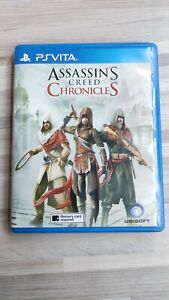 Assassin's Creed Chronicles (Sony PlayStation Vita, 2016) - WORLDWIDE SHIPPING