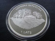 Latvia 2013 silver coin 1 lats JAZEPS VITOLS low mintage 3000