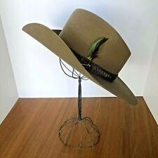 Vintage Stetson Western Cowboy Hat - Stampede - Acorn - size 57 7 1/8