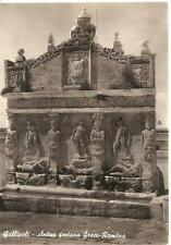 GALLIPOLI  -  Antica fontana Greco-Romana