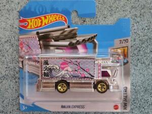 Hot Wheels 2021 #102/250 RAIJIN EXPRESS silver and Pink @E New casting 2021