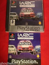 WRC ARCADE PLAYSTATION 1 WRC ARCADE PS1 PS2 PS3 PLATINUM