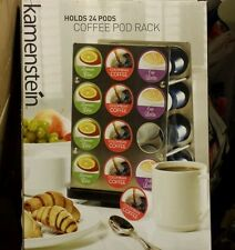 New! Kamenstein holds 24 pods coffee pod rack