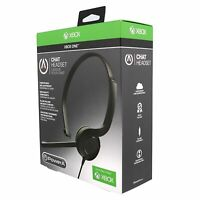 PowerA Chat Headset for Xbox One [Accessory, Light Weight, 3.6 ft Cable] NEW