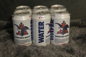 6 Cans Anheuser-Busch Drinking Water exp 10/05/21