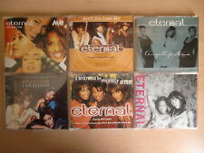 JOB LOT: Eternal x6 CD singles pack inc. Save Our Love, I Am Blessed