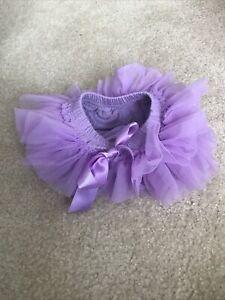 Newborn Girl Purple Tutu