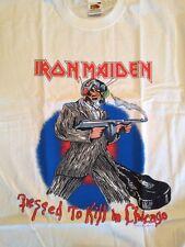 Iron Maiden-Chicago 1987 Event T-Shirt (L), Somewhere on tour (États-Unis tour)