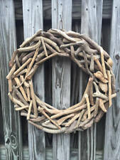 "18"" Natural Driftwood Wreath, Nautical Decor / Beach Decor / Nautical Wreath"