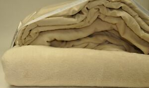 Microfiber Luxury Coral Fleece Bed Sheet Set (California King, Tan)