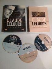 Claude Lelouch Collection - 3 Feature (DVD, Pal 2)  Rare Set