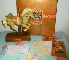 RARE WAYNE HIGGINS INDIAN PONY CAROUSEL MAKER MUSIC BOX LOVE CALL #643/5000 LMTD