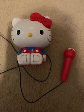 Hello Kitty Portable Karaoke And Radio
