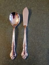Stanley Roberts Rogers Stainless Flatware DREAM ROSE Jelly Spoon Butter Knife