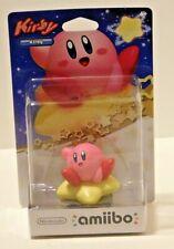 KIRBY Amiibo Super Smash Bros. Nintendo Wii U 3DS Sealed Backcard shows crease