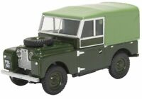 Land Rover Defender Canvas 1957 Series 1 Diecast Model 1:43 Scale - Oxford NEW