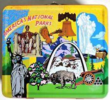 Esa3577. America'S National Parks 100th Anniversary Metal Lunch Box (2012) Rare