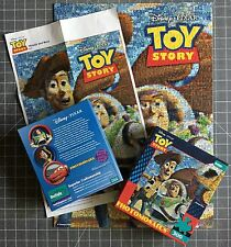 Toy Story Photomosaic Puzzle 300 Piece Woody Buzz Lightyear Disney Complete