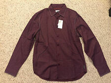 NEW NWT Armani Exchange Casual Button-Front Long-Sleeve Shirt Mens Medium M