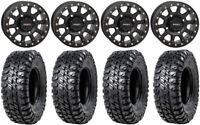 "System 3 SB-3 Black 14"" Wheels 31"" Chicane RX Tires Sportsman RZR Ranger"
