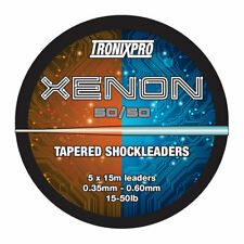 Tronix Pro Xenon Tapered Leader Various Sizes