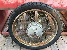 Jawa N20 50 Scooter Front Wheel  AHRMA   Rim Hub Brake Plate  1971