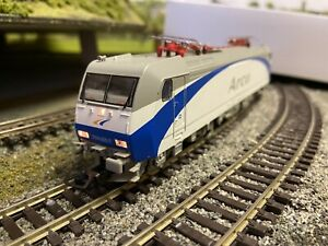 PIKO 96933 Digital DCC Train Set Arco Livery Loco Br 185 with 3 Carriages HO