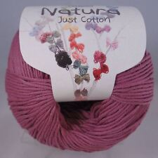 136 DMC Natura Medium Just Cotton Yarn Lilac Pink 50g