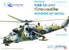 Quinta QD48026 1/48 Mi-24V Hind 3D-Printed coloured interior for Zvezda kit