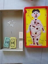 VTG Milton Bradley 1965 OPERATION Skill Game Where You're The Doctor Incomplete
