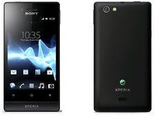 Sony ST23i Xperia Miro Android 3G WIFI GPS Unlocked Smartphone - 4GB