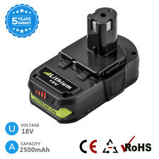 2.5Ah for Ryobi 18v Lithium Ion Battery P108 One+ P104 P105 P103 P107 P1 00004000 09 Tools
