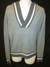 Caste 100% Cashmere Gray Hooded Sweater Men's S