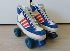 RARE 70's Adidas SUPER SKATE on ACS Skatemate roller skates vintage cangoran