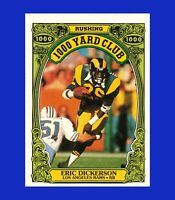 1986 Topps #10 Erik Dickerson 1000 YD Club NRMINT or BETTER - $1 COMBO SHIPPING