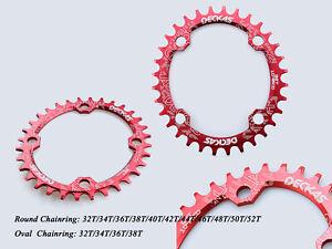 DECKAS 1X 104BCD Narrow Wide Chainring 32/34/36/38/40/42/44/46/48/50/52T 8-11s
