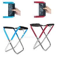 Sgabello pieghevole piccola sedia portatile per campeggio esterna pesca