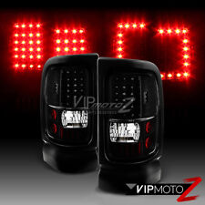 1994-2001 Dodge Ram 1500 2500 3500 [Infinity Black] LED Brake Signal Tail Lights
